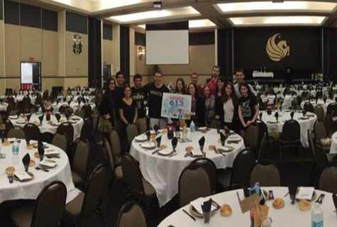 Pegasis Grand Ballroom was ready for Shabbat 613.