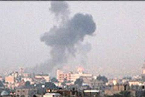 The Israel Air Force bombed Islamic Jihad terrorists after a mortar shell attack on soldiers.