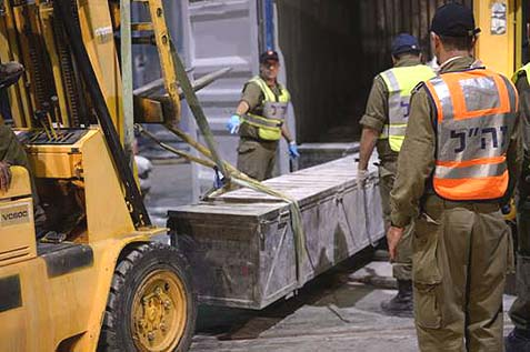 IDF Unloading Firearm Containers