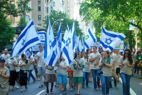 2013 Israel Day Parade in New York City.