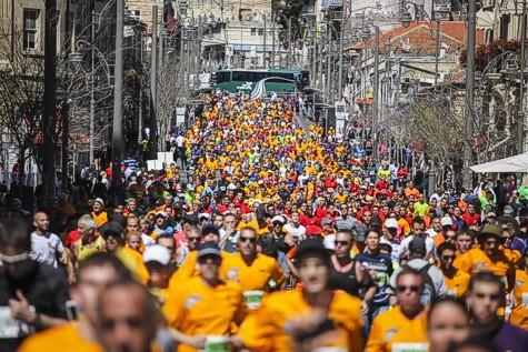 Jerusalem Marathon 1