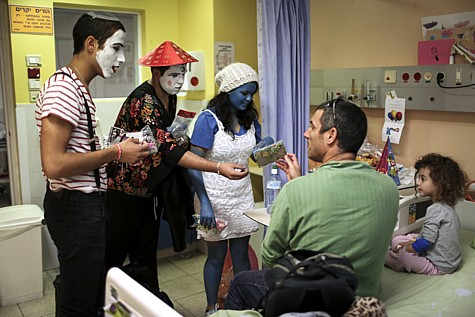 Purim in Hospital
