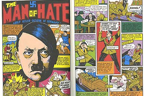 hitler comic book