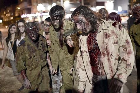 Zombies in Tel Aviv