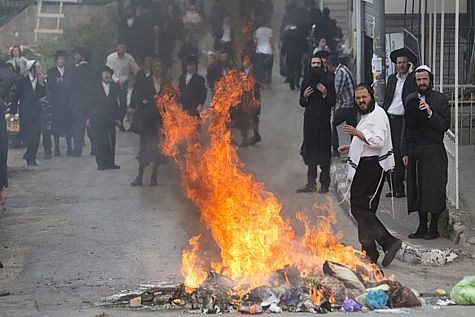 Haredi Draft Riot 1