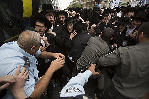Haredi Draft Riot 2