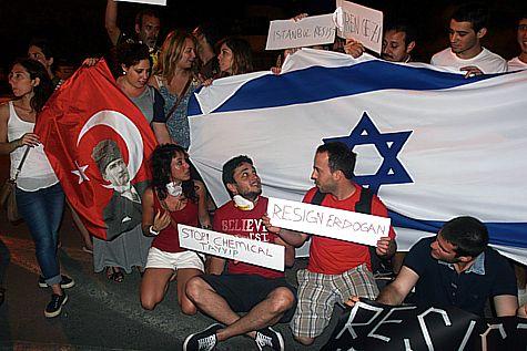 تركيا واسرائيل:القوم في السر غير القوم في العلن