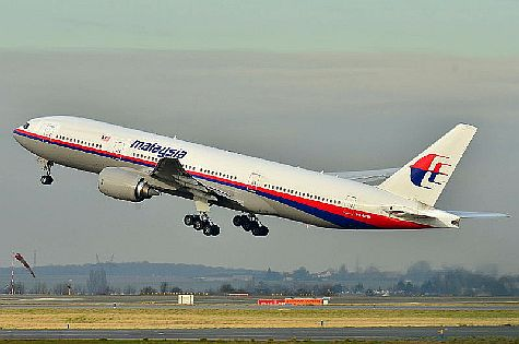 Missing Malaysian Airliner MH 370 in 2011.