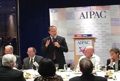 Nir Barkat at AIPAC