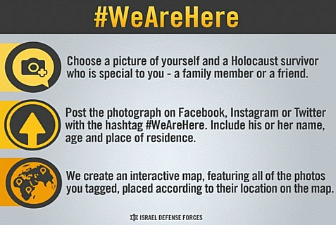 The IDF is creating a global interactive Holocaust Survivor Commemoration.