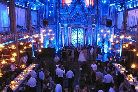 Wedding at Angel Orensanz center in New York.