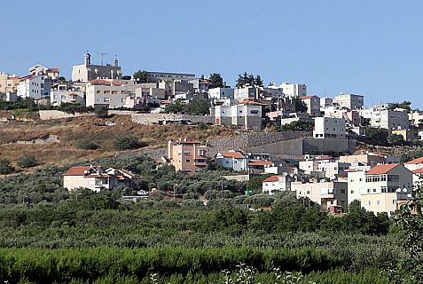 Jish, Arabic for Gush Halav, is a predominantly Christian Arab town located on the northeastern slopes of Mt. Meron, eight miles (13 kilometers) north of Tzfat (Safed).