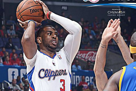 Chris Paul makes a basket and some money for Clippers' owner Donald Sterling.