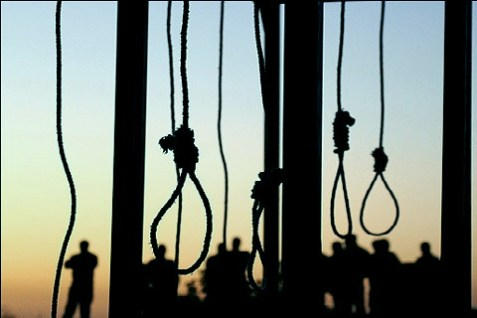 Iran imposes the death penalty for 131 offenses.