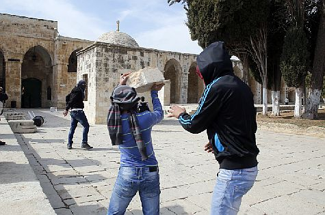 "This is how three eastern Jerusalem Arabs planned to ""greet"" Moshe Feiglin and Yehuda Glick on the Temple Mount."