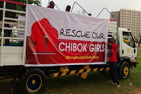 BringBackOurGirls Truck