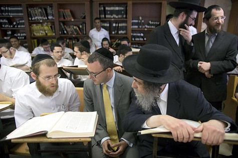 British Ambassador in Mir Yeshiva