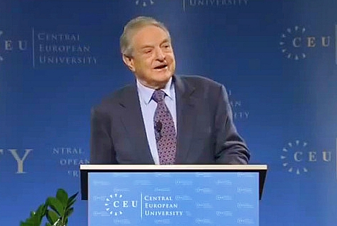 Open Society Foundations chairman and founder George Soros.