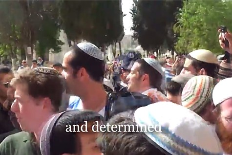 Group on Temple Mount on JD