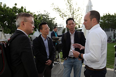 Hong Kong delegation in Jerusalem on May 19, meeting with Israeli startup innovators.