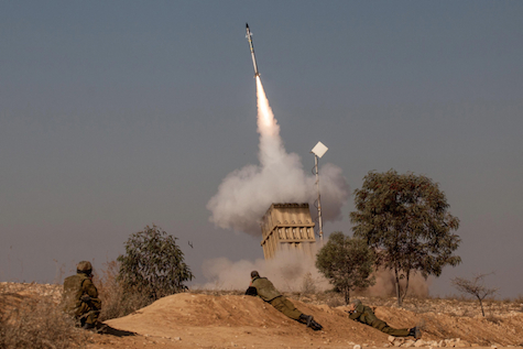 Iron Dome downs Palestinian rocket near Beer Sheba