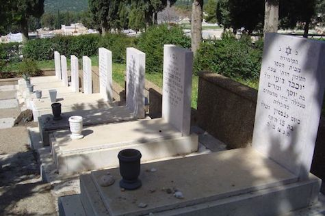 Graves of Ma'alot massacre victims