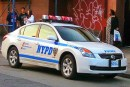 New York Police Department vehicle