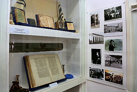Interior of the Wiesel home in Sighet, Romania, now Holocaust Education Center.