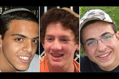 Eyal Yifrah (19), Gil-Ad Shayer(16) and Naftali Frenkel (16) , the three Israeli boys are the victims of kidnapping by Hamas terrorists.