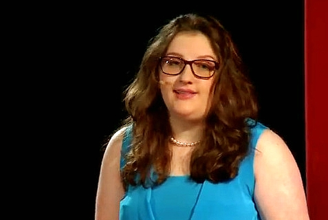 Anna Blech takes on the New York Times' Holocaust silence in a TEDx Talk.