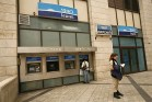 Bank Leumi branch in Israel.