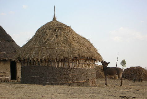 Traditional Ethiopian home