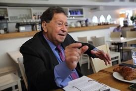 """Former Labor minister Binyamin """"Fuad"""" Ben-Eliezer."""