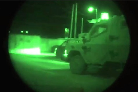 IDF during a night operation. (file photo)