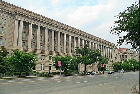 The Internal Revenue Service building in Washington, D.C.