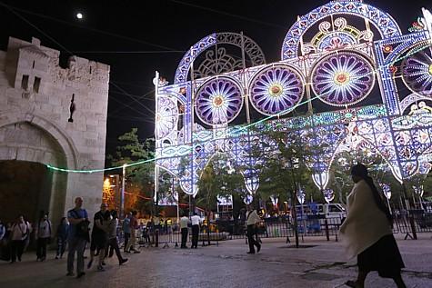 Jerusalem Light Festival 2014