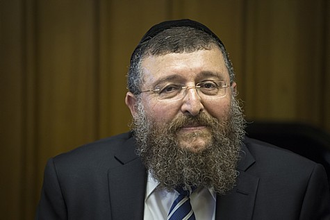 Shas MK Yoav Ben-Tzur