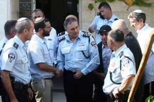 Police Chief Yohanan Danino in Talmon: Too many foul-ups