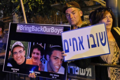 Israeli Teens Kidnapped