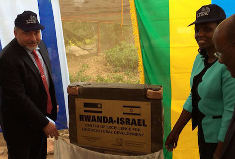 FM Liberman inaugurates Rwanda-Israel Center of Excellence for Horticultural Development