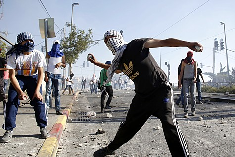 Arabs riot in Jerusalem 2