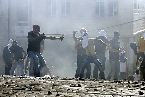 Arabs riot in Jerusalem