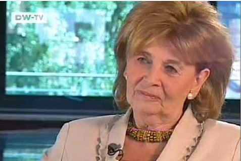 Charlotte Knobloch, former president of the Central Council of Jews in Germany, from 2006 interview.