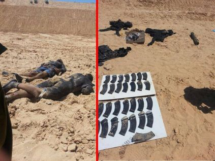 Hamas frogmen killed trying to infiltrate Kibbutz Zikim by way of the sea.