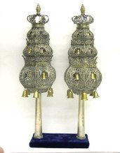 Torah Finials, Dutch, 18th century