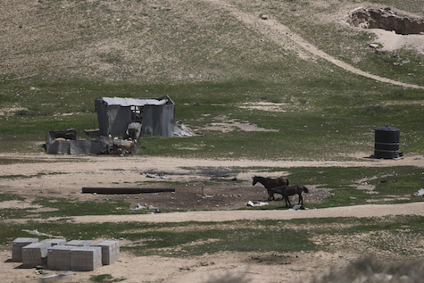 "Nowhere to run: Lone Bedouin structure in an ""unrecognized"" village in the Negev."