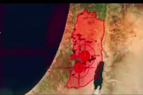 Hamas Target Map of Israel