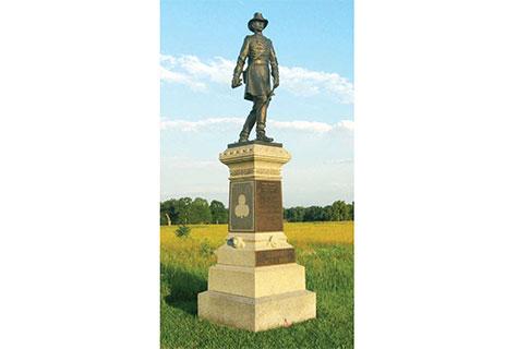 Statue of Brig. Gen. John Gibbon