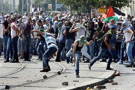 Jerusalem Arabs' version of reciting Psalms at a funeral of a terrorist.
