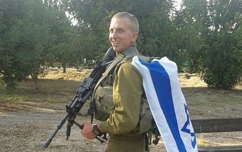 New Jersey- native Moshe Hirt suffered moderate injuries in the war in Gaza.